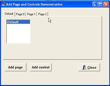 исходник на Delphi AddPage